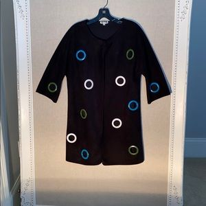 Coat Topper Size Small Black by Adore